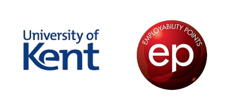 University of Kent and Employability Points combined logo